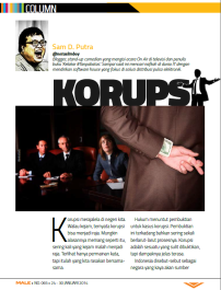 LOL Column - Male Magazine - edition 065