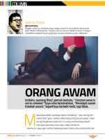 LOL Column - Male Magazine - edition 073