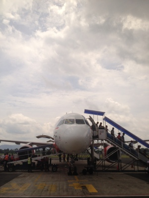 Mudik Pakai Pesawat